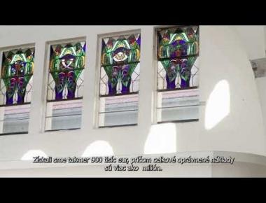 Embedded thumbnail for Videotrailer o pripravovanej obnove synagógy